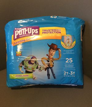 Huggies Pull-ups diapers new packages 2T-3T for Sale in Davie, FL