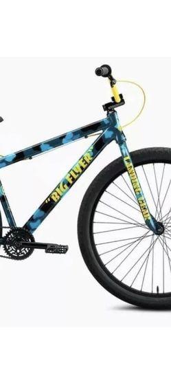 """SE Bikes 2021 City Grounds Big Flyer 29"""" Blue Camo for Sale in Rancho Cordova,  CA"""