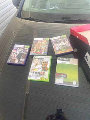 Xbox 360 kinect + 5 games for Sale in Denham Springs, LA