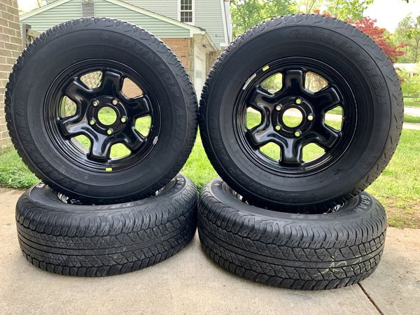 5x5.5 RAM Wheels and Tires