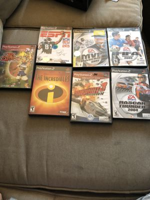 Ps2 games for Sale in Riverside, CA