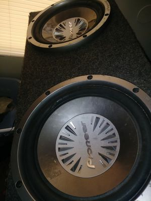 12 inch speakers for Sale in Charlotte, NC