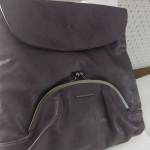 DCShoeCo Purple Laether Backpack Purse for Sale in Philadelphia, PA