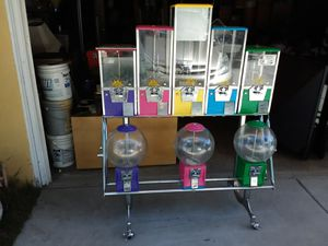 Northwestern bubble gum and toy machine. for Sale in Upland, CA