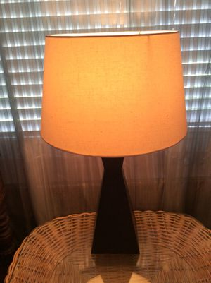 Lamp with shade for Sale in Tampa, FL