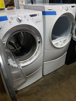 Whirlpool front load washer and dryer excellent condition for Sale in Baltimore, MD