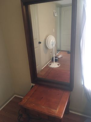 Mirror and nightstand for Sale in Thomasville, NC