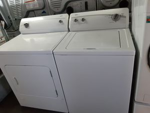 $450 Whirlpool washer dryer set includes delivering the San Fernando Valley a warranty and installation for Sale in Los Angeles, CA