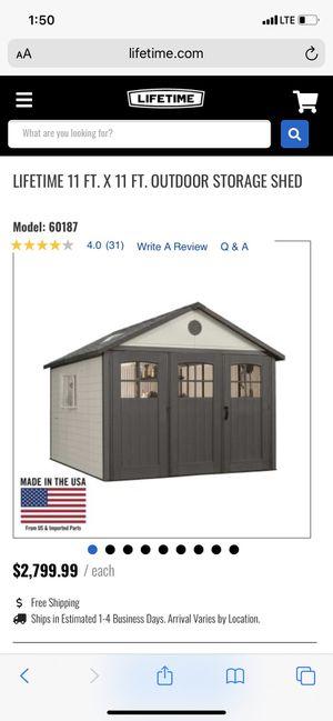 Storage Shed 11x11 NEW BOX for Sale in Walnut, CA