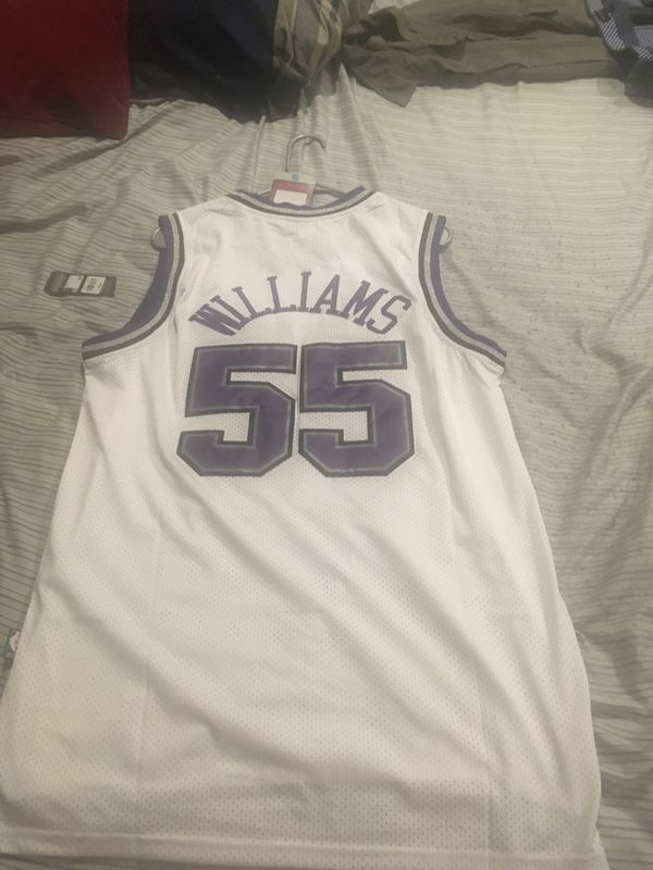 Sacramento Kings Jayson Williams Jersey