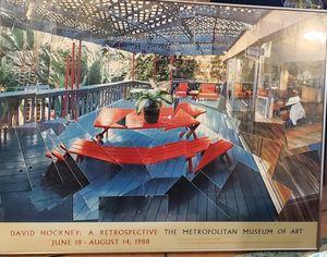 DAVID HOCKNEY PRINT for Sale in Phoenix, AZ