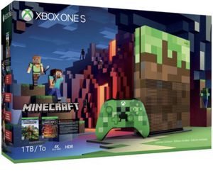Minecraft Limited Edition Xbox One S, 1TB, 4K, HDR, with Accessories and Games! for Sale in LOS RNCHS ABQ, NM