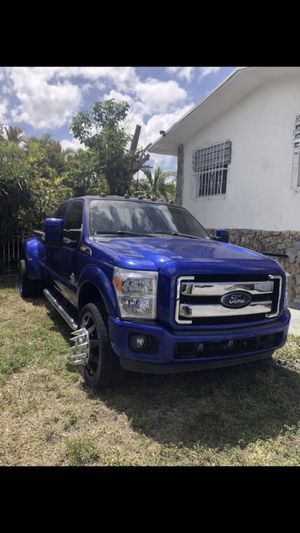 2006 Ford F-350 dually 4x4 6.0 diesel powerstroke will trade f350 American force for Sale in Hialeah, FL