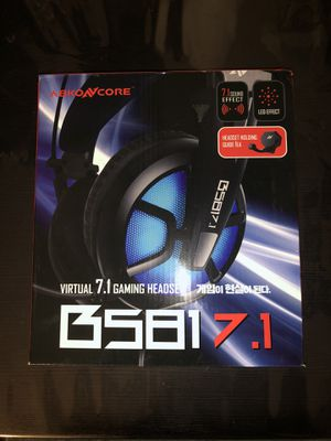 ABKONCORE Gaming Headset with 7.1 for Sale in Los Angeles, CA