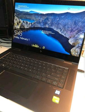 Hewlett Packard spectre x360 convertible laptop for Sale in Collinston, LA