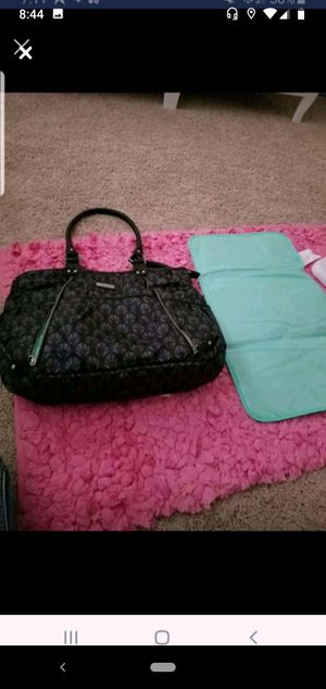 Carter's dark blue diaper bag w/changing mat for Sale in Stafford Courthouse, VA