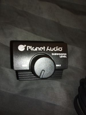 Planet audio bass knob.. BRAND NEW for Sale in Graham, WA