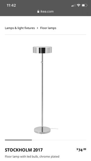 IKEA floor lamp for Sale in Germantown, MD