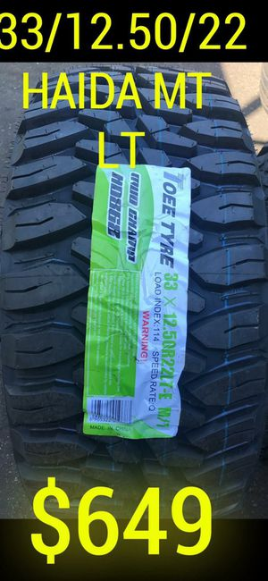 BRAND NEW SET OF TIRES 33 1250 22 for Sale in Tempe, AZ