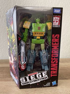 Transformers War for Cybertron: Siege Voyager Springer for Sale in Fresno, CA