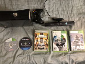XBOX 360 Kinect W/ Games and Controller for Sale in Duquesne, PA