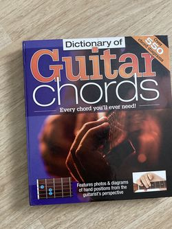 DICTIONARY OF GUITAR CORDS for Sale in Redlands,  CA