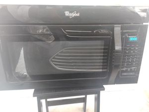 Whirlpool over the stove microwave for Sale in Jacksonville, FL