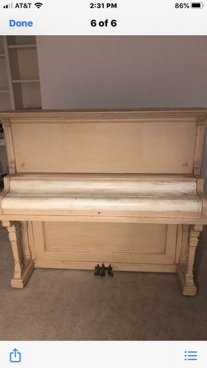 Antique McPhail upright piano for Sale in Rocklin, CA