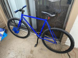 Fixie and Free Riding Bike with Pump for Sale in Tustin, CA
