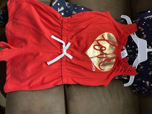 Toddler girl never worn 2 set rompers for Sale in Marshall, TX