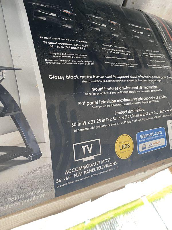 Brand new open box tv stand ! 100