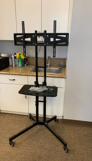 LOCKTEK - Mobile TV Cart w/ shelf. Adjustable for Sale in Norco, CA