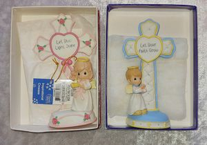 2x Precious Moments Boy & Girl Inspirational Crosses for Sale in San Diego, CA