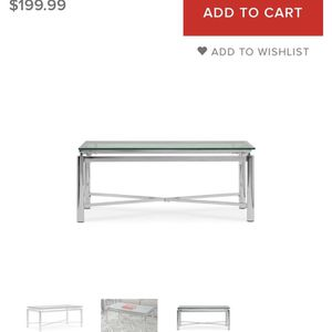 Glass Coffee Table for Sale in Decatur, GA