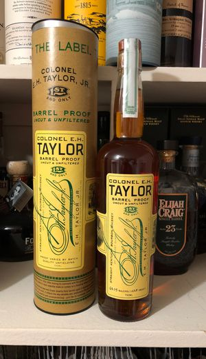 EH Taylor Barrel Proof 63.75% for Sale in Silver Spring, MD
