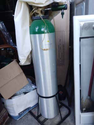 Oxygen machine tank for Sale in Indianapolis, IN
