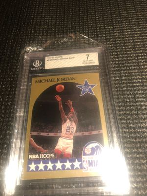 Micheal Jordan basketball card 🔥 All Star edition 90/91 for Sale in Manvel, TX
