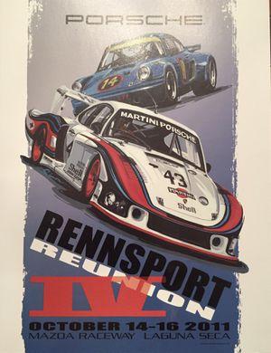 Porsche Rennsport Reunion IV Laguna Seca Official Program for Sale in Dunwoody, GA