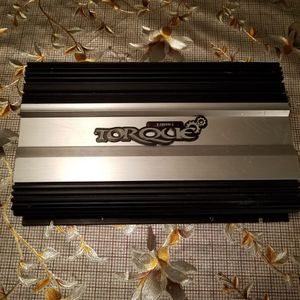 Torque 1200 Watts 2 Ch Amp Works Great for Sale in Corona, CA
