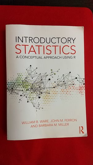 Like New - Introductory Statistics: A Conceptual Approach Using R for Sale in North Las Vegas, NV