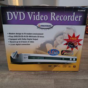 DVD Video Recorder Model PD-DVR100 (New Open Box) for Sale in La Quinta, CA