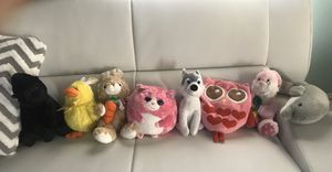 Stuffed animals for Sale in Dallas, TX
