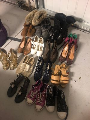 Michael kors, guess ,coach shoes @$5.00. must sell !! for Sale in Winter Garden, FL