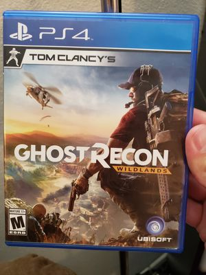 Tom Clancy's Ghost Recon Wildlands - PlayStation 4 PS4 for Sale in San Antonio, TX