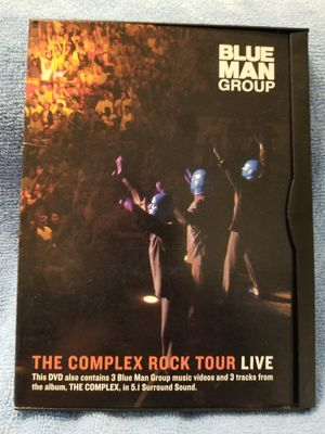 BLUE MAN GROUP THE COMPLEX ROCK TOUR LIVE-DVD for Sale in Riverside, CA