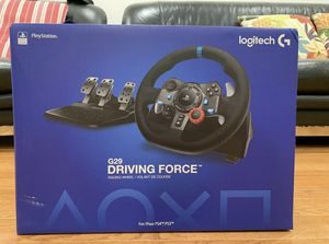 Brand new Logitech Driving Force G29 Gaming Racing Wheel with pedals for PC & PS4 for Sale in Portland, OR