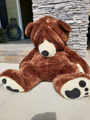 Giant stuffed teddy bear for Sale in Mission Viejo, CA