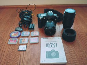 Nikon D70 for Sale in Raleigh, NC
