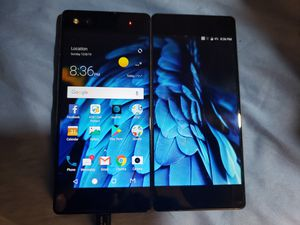 ZTE Axon M (Z999) 64gb Black Dual Screen AT&T LOCKED! Smartphone Android 7.1.2 for Sale in Mechanicsburg, PA