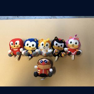 Full set of baby sonic characters for Sale in Corona, CA